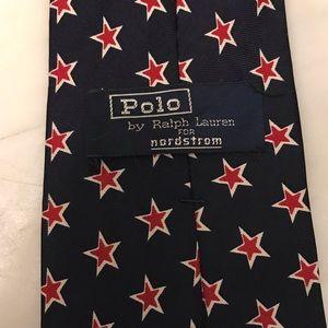 Patriotic Polo Ralph Lauren men's necktie